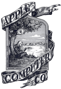 1er logo d'Apple (1976)